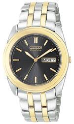 シチズン 時計 Citizen Mens BM8224-51E quotEco-Drivequot Two-Tone Stainless Steel Watch