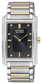 シチズン 時計 Citizen Mens BL6064-52E Palidoro Eco-Drive Two Tone Diamond Palidoro Watch