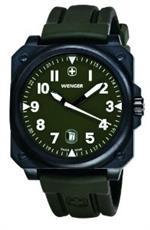 ウェンガー 時計 WENGER - Mens Watches - Aerograph Cockpit 3 hands date - Ref. 72422