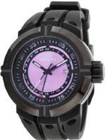 インヴィクタ 時計 Mens Watch Invicta 836 Force Black Stainless Steel Force Quartz GMT Pink Dial St