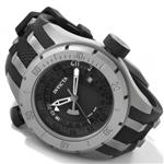 インヴィクタ 時計 Invicta Mens 0224 Force Collection Black Dial Grey Titanium and Black Rubber Watch