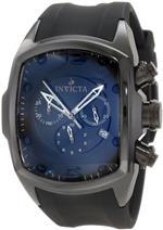 インヴィクタ 時計 Invicta Mens 0312 Lupah Revolution Chronograph Black Dial Watch