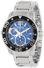 インヴィクタ 時計 Invicta Mens 10588 Ocean Reef Reserve Chronograph Blue Dial Stainless Steel Watch