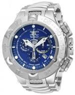 インヴィクタ 時計 Invicta Subaqua Chronograph Blue Dial Stainless Steel Mens Watch 12885