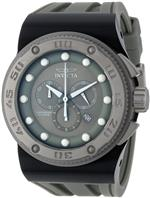 インヴィクタ 時計 Invicta Mens 12291 Akula Sport Chronograph Grey Dial Grey Silicone Watch