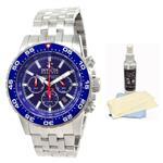 インヴィクタ 時計 Invicta 1469 Mens Reserve Ocean Master Blue Dial Steel Chronograph Automatic Dive