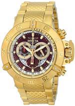 インヴィクタ 時計 Invicta Mens 5405 Subaqua Noma III Collection Gold-Tone Chronograph Watch