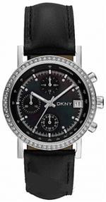 ダナキャラン 時計 DKNY Glitz Silver-Tone Dial Womens Watch #NY8365