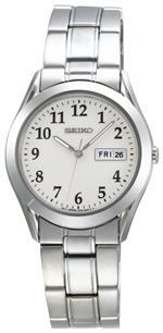 セイコー 時計 Seiko Mens SGG799 Silver-Tone Watch