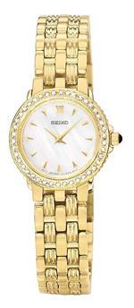 セイコー 時計 Seiko Womens SUJC50 Le Grand Sport Diamond Watch
