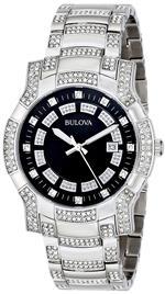 ブローバアキュトロン 時計 Bulova Mens 96B176 Crystal Watch