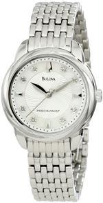 ブローバアキュトロン 時計 Bulova Womens 96P125 Precisionist Brightwater Mother of Pearl Watch