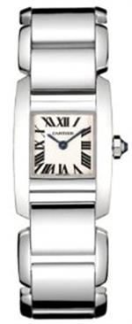 カルティエ 時計 Cartier Tankissime 18kt White Gold Watch W650059H