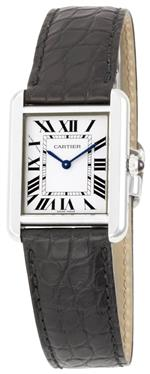カルティエ 時計 Cartier Womens W5200005 Tank Solo Leather Strap Watch<img class='new_mark_img2' src='//img.shop-pro.jp/img/new/icons12.gif' style='border:none;display:inline;margin:0px;padding:0px;width:auto;' />