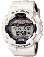 カシオ 時計 Casio GLS100-7 G-Shock G-Lide Winter Nylon White LTD Watch