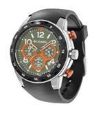 コロンビア 時計 Columbia Unisex CA004055 Transit Black and Silver-Tone Analog Sports Watch