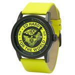 エドハーディー 時計 Ed Hardy Womens PK-YW Punked Yellow Watch<img class='new_mark_img2' src='//img.shop-pro.jp/img/new/icons3.gif' style='border:none;display:inline;margin:0px;padding:0px;width:auto;' />