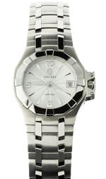 コンコルド 時計 Concord Womens Mini Saratoga 310376 Quartz Date Watch
