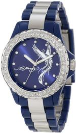 エドハーディー 時計 Ed Hardy Womens VX-BL Vixen Blue Watch<img class='new_mark_img2' src='//img.shop-pro.jp/img/new/icons28.gif' style='border:none;display:inline;margin:0px;padding:0px;width:auto;' />