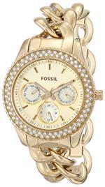 フォッシル 時計 Fossil Womens ES3499 Stella Analog Display Analog Quartz Gold Watch