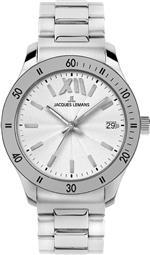 ジャックルマン 時計 Jacques Lemans Rome Sports 1-1678B Ladies Metal Bracelet Watch