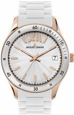 ジャックルマン 時計 Jacques Lemans Womens 1-1623R Rome Sports Sport Analog with Silicone Strap Watch