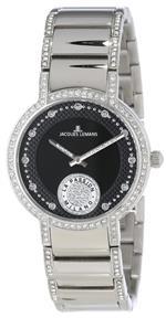 ジャックルマン 時計 Jacques Lemans Womens 1-1725C Milano La Passion Analog Swarovski Crystals Watch