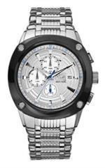 マークエコー 時計 Marc Ecko Mens E20030G2 Hi Tek Silver Stainless Steel Watch