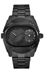 マークエコー 時計 Marc Ecko Mens E18508G1 The Buckle Dual Time Travel Watch Functionality Watch
