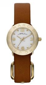 マーク ジェイコブス 時計 Marc by Marc Jacobs MBM8575 Mini Amy Gold Leather Watch
