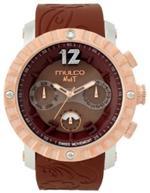 マルコ 時計 Mulco MW5-1876-033 Nuit Lace XL brown band swiss movement Watch