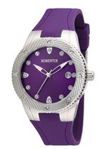 モメンタス 時計 Momentus Stainless Steel SWAROVSKI Crystals Bezel Womens Watch TR137P-12RB<img class='new_mark_img2' src='//img.shop-pro.jp/img/new/icons13.gif' style='border:none;display:inline;margin:0px;padding:0px;width:auto;' />