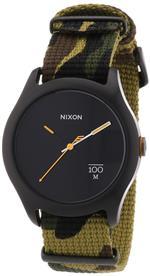 ニクソン 時計 Nixon A344-1253-00 Mens Quad Woodland Camo Watch