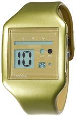 ヌーカ 時計 Nooka Unisex ZUB-ZOO-GD-20 Zub Zoo Gold Polyurethane Watch