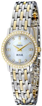オメガ 時計 Omega Womens 4375.75 White Mother-Of-Pearl Dial DeVille Prestige Watch<img class='new_mark_img2' src='//img.shop-pro.jp/img/new/icons38.gif' style='border:none;display:inline;margin:0px;padding:0px;width:auto;' />