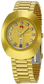 ラド 時計 Rado Mens R12413493 Original Gold Dial Watch