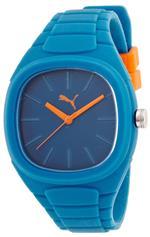 プーマ 時計 Puma Bubble Gum Large Blue Dial Blue Silicone Unisex Watch PU102881004