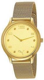プーマ 時計 Puma Mens Motor PU102692004 Gold Stainless-Steel Quartz Watch with Gold Dial<img class='new_mark_img2' src='//img.shop-pro.jp/img/new/icons5.gif' style='border:none;display:inline;margin:0px;padding:0px;width:auto;' />