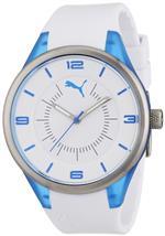 プーマ 時計 Puma PU911002003 Fusion White Light Blue Watch