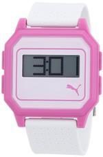 プーマ 時計 Puma PU910951006 Flat Screen White Pink Watch