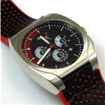 プーマ 時計 Puma Drive Black Watch With Keychain