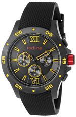 レッドライン 時計 red line Mens RL-60036 Chronograph Black Dial Black Textured Silicone Watch<img class='new_mark_img2' src='//img.shop-pro.jp/img/new/icons32.gif' style='border:none;display:inline;margin:0px;padding:0px;width:auto;' />