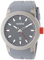 レッドライン 時計 red line Mens RL-10016-GM-014 Gauge Analog Display Japanese Quartz Grey Watch<img class='new_mark_img2' src='//img.shop-pro.jp/img/new/icons32.gif' style='border:none;display:inline;margin:0px;padding:0px;width:auto;' />