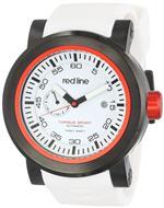 レッドライン 時計 red line Mens RL-50046-BB-02RD-WHST Torque Sport White Dial White Silicone