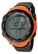 スント 時計 Mens Digital Vector-Orange Multi-Function Black Silicone