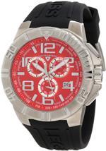 スイスレジェンド 時計 Swiss Legend Mens 40118-05 Super Shield Chronograph Red Dial Watch<img class='new_mark_img2' src='//img.shop-pro.jp/img/new/icons40.gif' style='border:none;display:inline;margin:0px;padding:0px;width:auto;' />