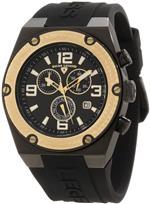 スイスレジェンド 時計 Swiss Legend Mens 30025-BB-01-GB Throttle Chronograph Black Dial Watch