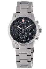 スイスミリタリー 時計 Swiss Military Hanowa Mens 06-5010-04-007 Swiss Recruit Chronograph Silver<img class='new_mark_img2' src='//img.shop-pro.jp/img/new/icons19.gif' style='border:none;display:inline;margin:0px;padding:0px;width:auto;' />