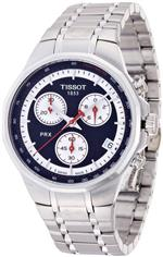 ティソ 時計 Tissot PRX Classic Chronograph Silver Dial Mens Watch T0774171103100