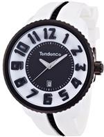 テンデス 時計 Tendence Gulliver Round Black amp White Mens Quartz Watch 02043014<img class='new_mark_img2' src='//img.shop-pro.jp/img/new/icons41.gif' style='border:none;display:inline;margin:0px;padding:0px;width:auto;' />